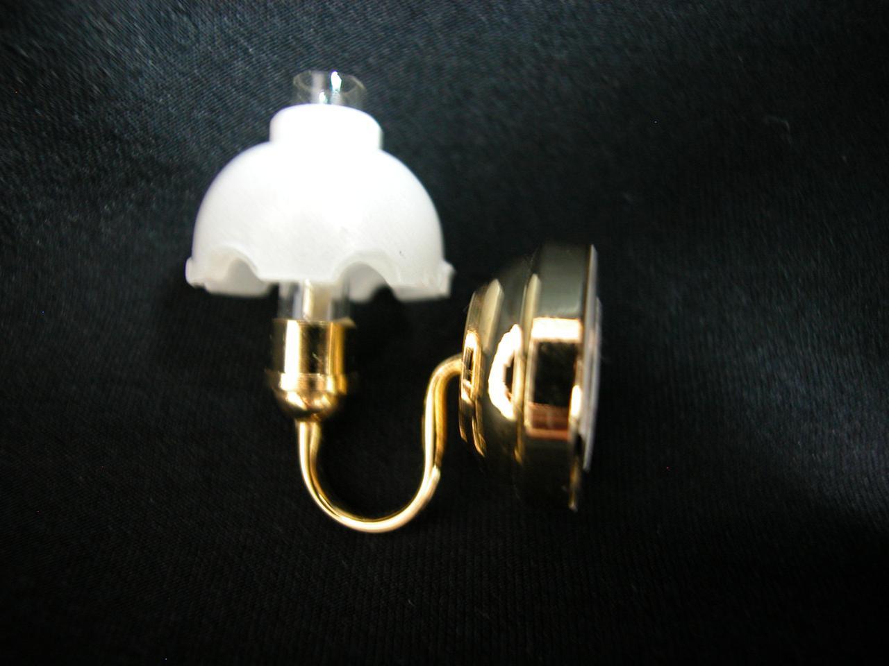 Heidi Ott Dollhouse Miniature Light 1:12 Scale Wall Lamp #YL2073