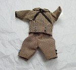 Heidi Ott Dollhouse Miniature 1:12 Scale Child's Clothes Outfit #XZ952