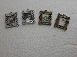Dollhouse Miniature Accessories 1:12 Scale Picture Frames 4 pcs set #Z285