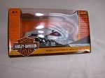 2004 Red Harley-Davidson Fatboy Diecast Model Bike